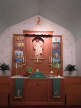 Altar and Reredos, Zion Lutheran, Carpenter IL
