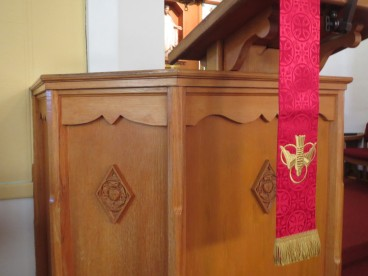 Pulpit, Zion Lutheran, Carpenter IL